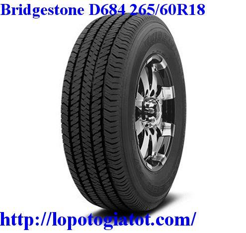 lốp bridgestone dueler ht d684 265/60r18