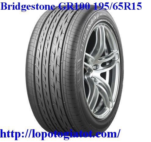 lốp bridgestone turanza gr100 195/65r15