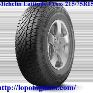 lốp michelin latitude cross 215/75r15