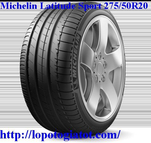 lốp michelin latitude sport 275/50r20