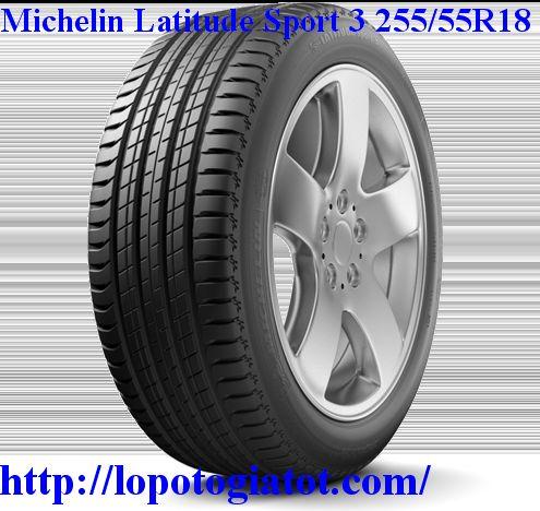 lốp michelin latitude sport 3 255/55r18