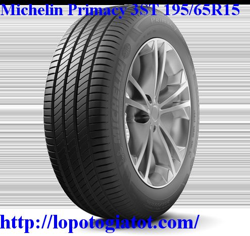 lốp michelin primacy 3st 195/65r15